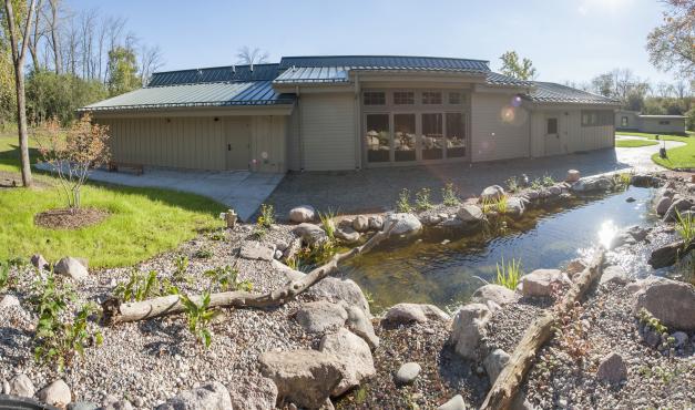Prairie Springs pond