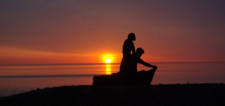 Concordia sunset