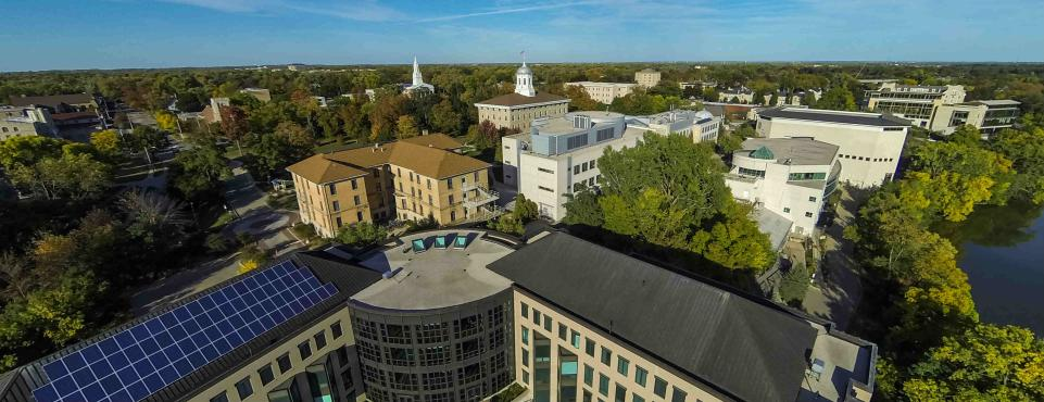 Lawrence aerial view