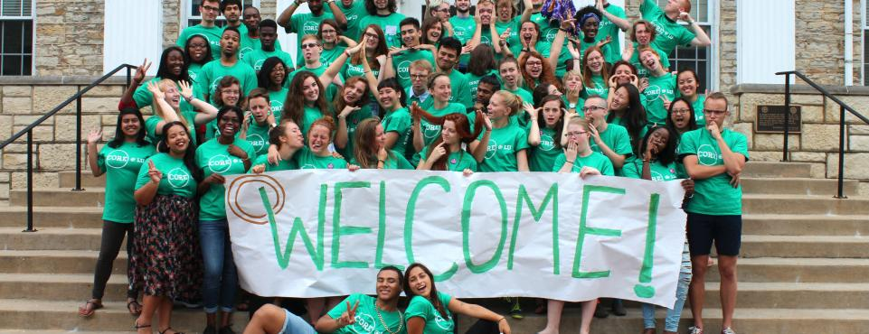 Lawrence University welcome students