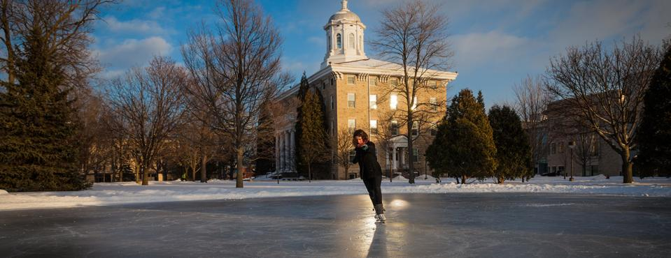 Lawrence ice skater