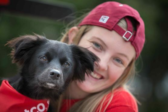 Ripon dog and student