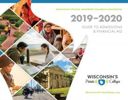2019-20 Guide to Admissions and Financial Aid cover 2019-20 Guide to Admissions and Financial Aid cover