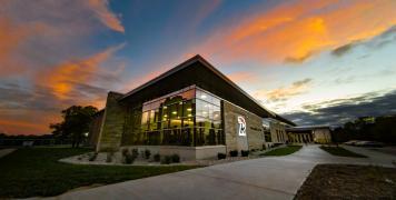 Willmore Center sunset