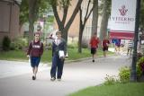 Students on Viterbo campus