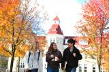 students walking on carroll campus